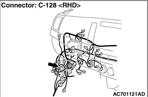 Code No.U0170 Left front impact sensor communication error