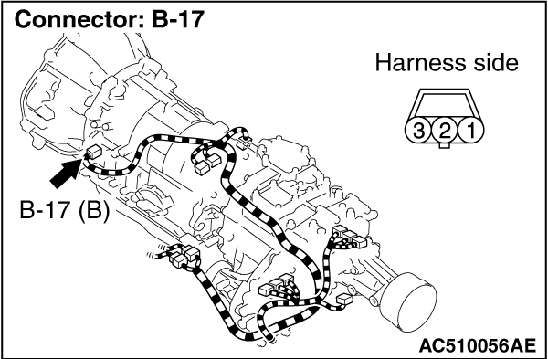 Code No.P1766 (P0715) Input shaft speed sensor system