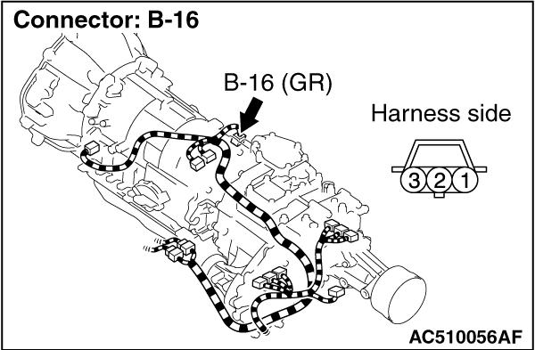 Code No.P1767 (P0720) Output shaft speed sensor system