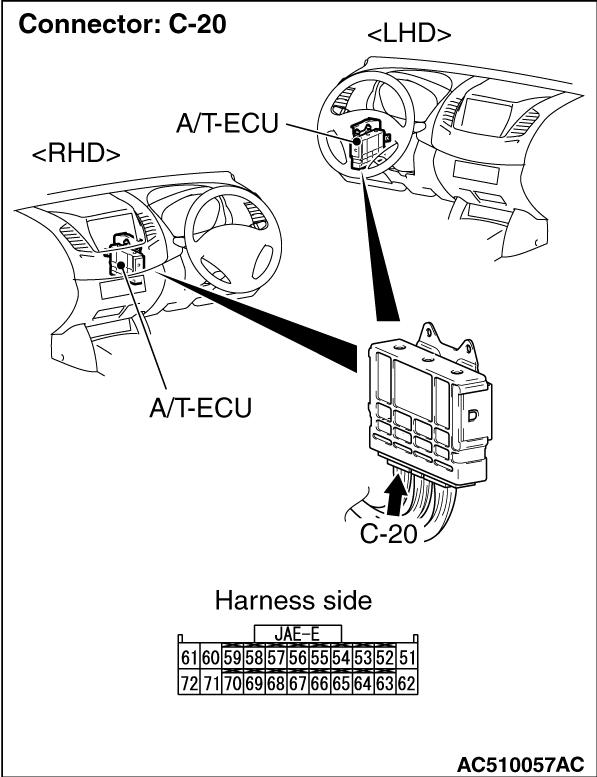 Code No.P1773 (P0750) Low-reverse solenoid valve system