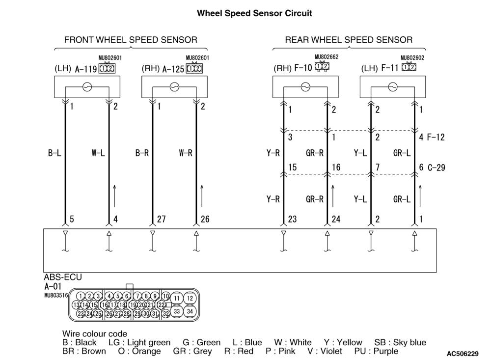 medium resolution of c1210 rear right wheel speed sensor open circuit or short circuit code no c1215 rear left wheel speed sensor open circuit or short circuit