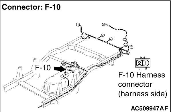 Code No.C1211: Wheel Speed Sensor (RR) System (Sensor