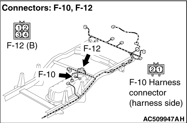 Code No.C1211: Wheel Speed Sensor (RR) System (Sensor