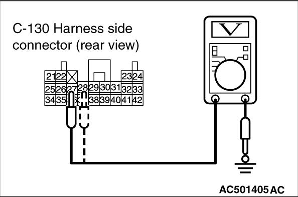 Code No.B1612: Seat belt pre-tensioner (passenger's side