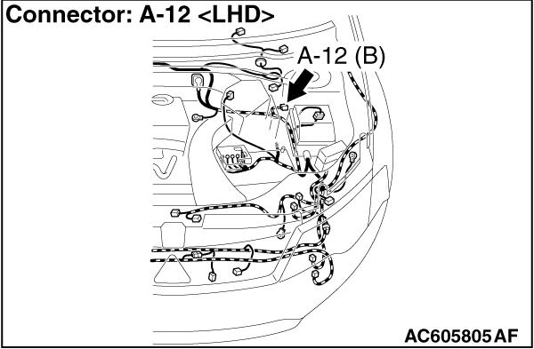 Code No. C1011 Abnormality in FL wheel speed sensor signal