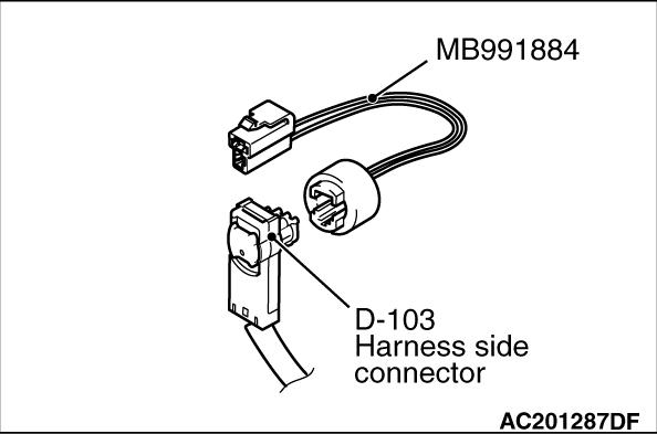 CODE NO. B1B22 Right curtain air bag module (squib) system