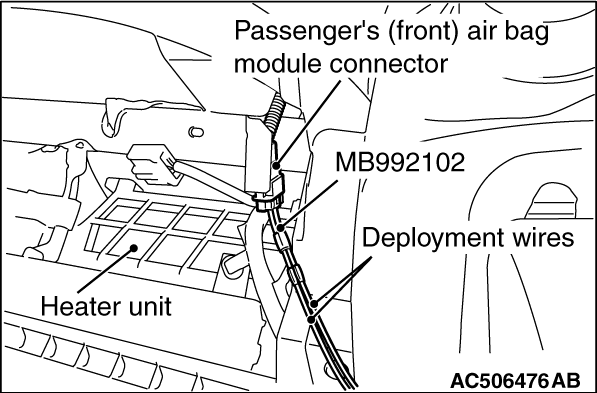 AIR BAG MODULE DISPOSAL PROCEDURES