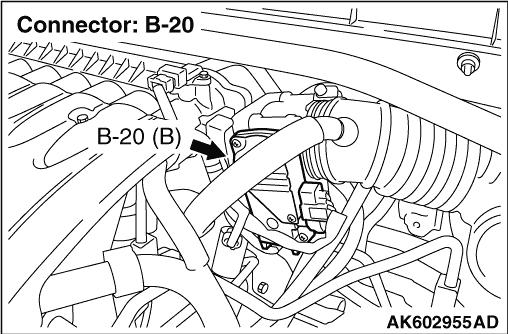 Code No. P0223: Throttle Position Sensor (sub) Circuit