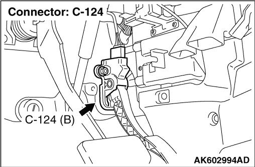 Code No. P2128: Accelerator Pedal Position Sensor (sub
