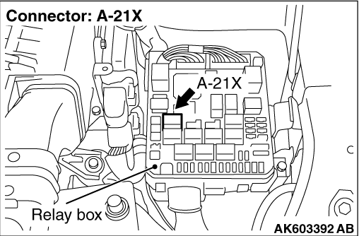 Code No. P0657: Throttle Valve Control Servo Relay Circuit