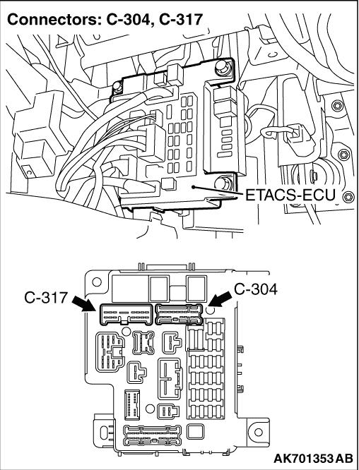 Inspection Procedure 19: Engine-ECU Power Supply, Engine