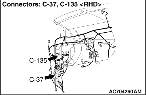 Inspection Procedure 5: Gears cannot be Changed in Sport Mode.