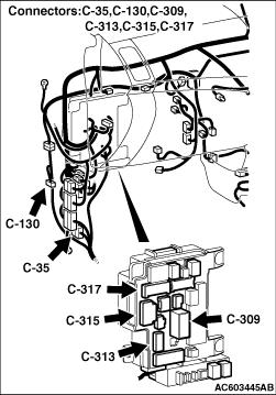 Code No. U0401: Engine CAN data error