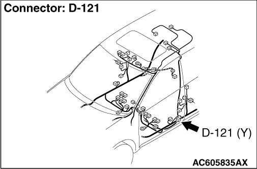 CODE NO. U0172 Left side impact sensor (front