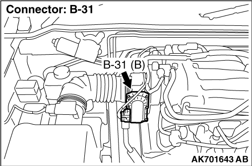 Code No. P0123: Throttle Position Sensor (Main) Circuit