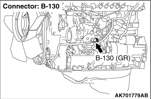 Code No. P0182: Fuel Temperature Sensor Circuit Low input