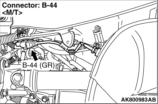 Code No. P0427: No. 2 Exhaust Gas Temperature Sensor