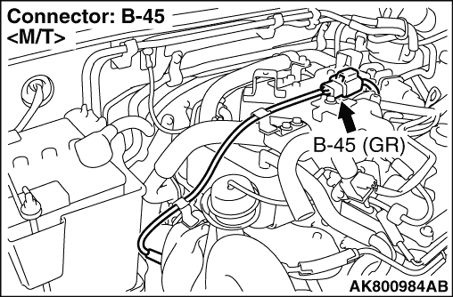 Code No. P0546: No. 1 exhaust gas temperature sensor