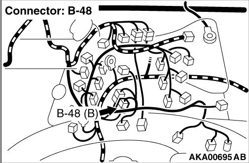 Code No. P0154: Left Bank Oxygen Sensor (Front) Circuit No