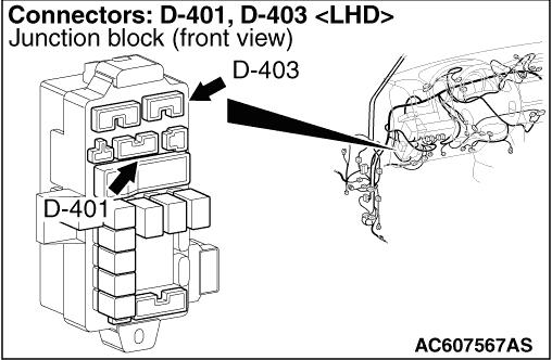 Code No.C1453: Rear Propeller Shaft Speed Sensor System