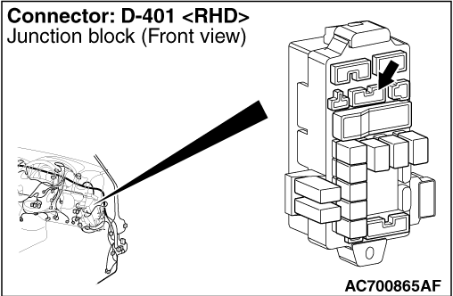 Code No.P1788 (P1751) A/T control relay system