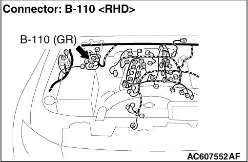 Code No.61: Master Cylinder Pressure Sensor System