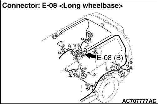 Code No.B1451: Curtain air bag squib (LH) open-circuited