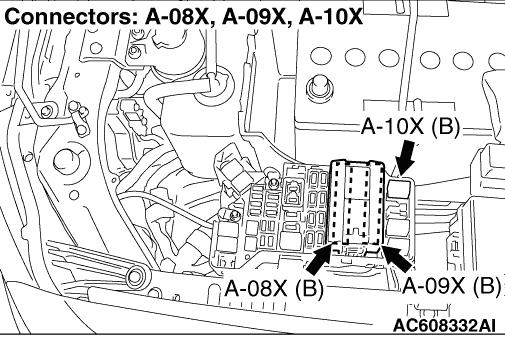 Code No.03 Communication Error with Front-ECU