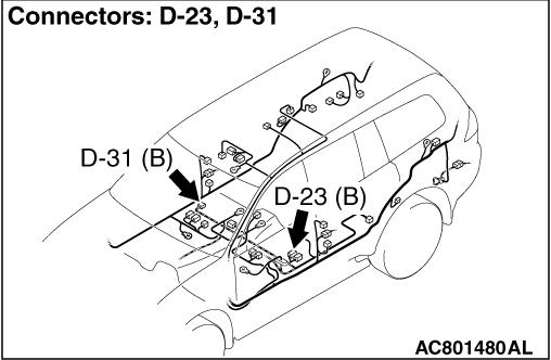 Code No.C1201: Wheel speed sensor (FR) (Short circuit