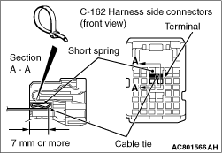 Code No.B1433: Side-airbag module (LH) (squib) system