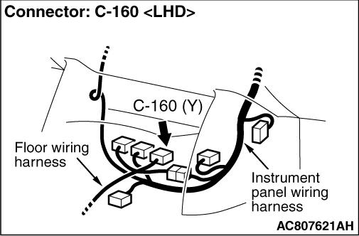 Code No.B1421: Side-airbag module (RH) (squib) system
