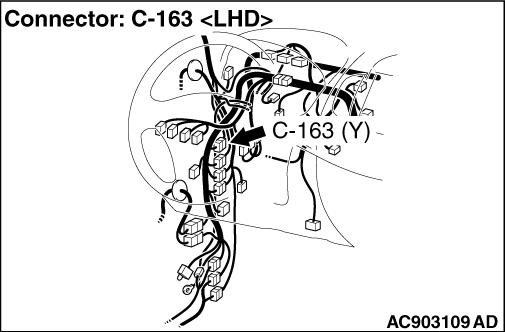 Code No.B1451: Curtain air bag module (LH) (squib) system