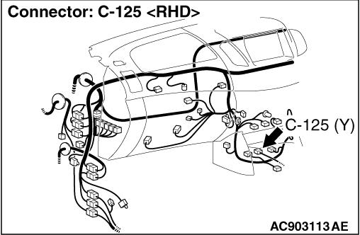 Code No.B1606: Seat belt pre-tensioner (driver's side