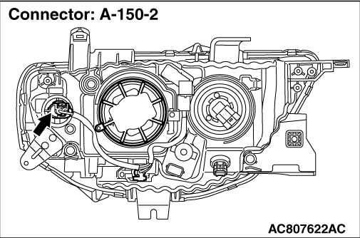 Code No.B1707: Detection of Turn-signal Lamp (open circuit)