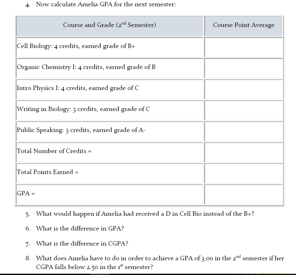 medium resolution of Avid Gpa Worksheet   Printable Worksheets and Activities for Teachers