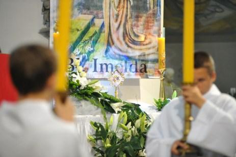 od 2016 roku kościół jest miejscem przechowywania relikwii bł. Imeldy - patronki dzieci I-komunijnych