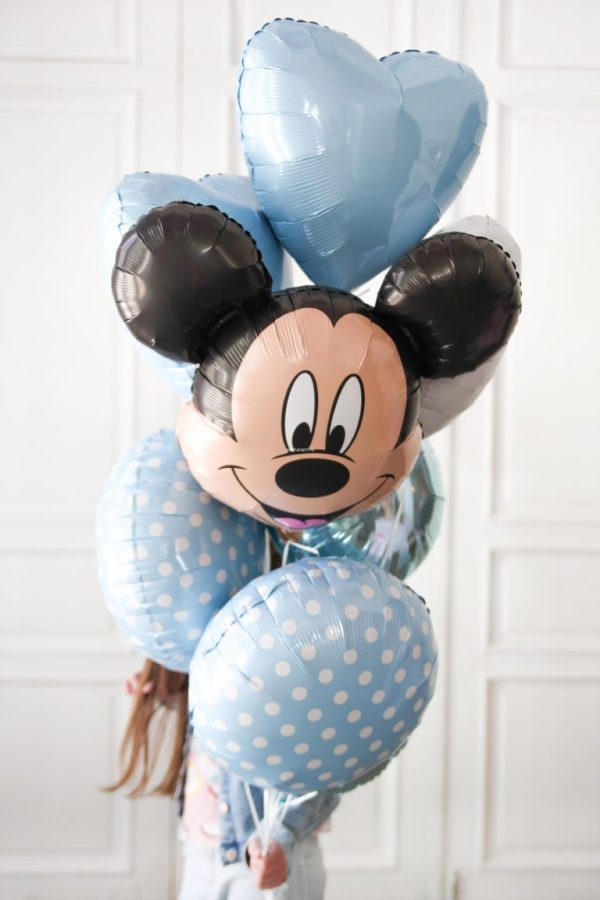 Mickie Mouse Ready Composition Helium balloon | Faraday Helium Balloons in Geneva delivery