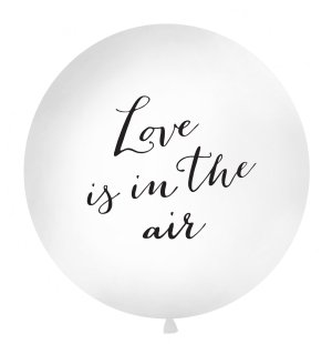 Love is in the air latex balloon