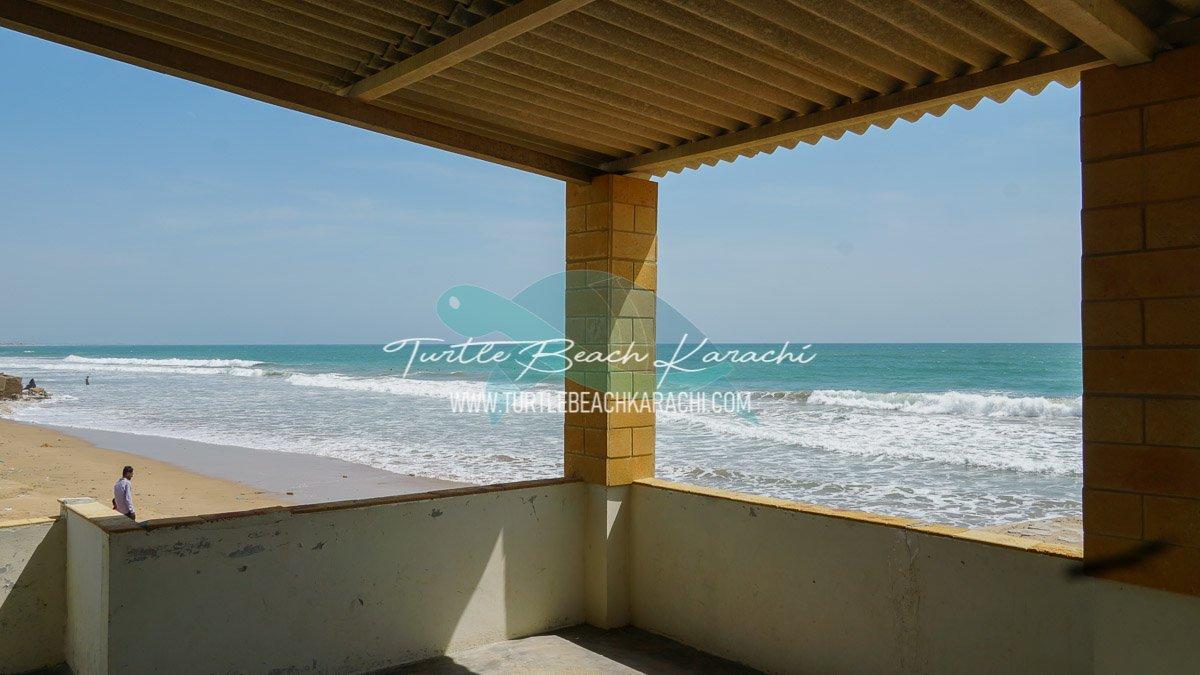 Rent Beach Hut Turtle Beach Karachi - TB10