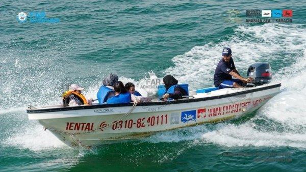 OPEN SEA FISHING SPEED BOAT RENTAL KARACHI