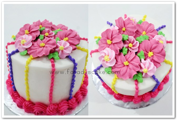 Romantic Flower  Faradyscake