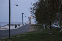 Út a világítótoronyhoz - Nallikari tengerpart, Oulu (Egy májusi éjfél)