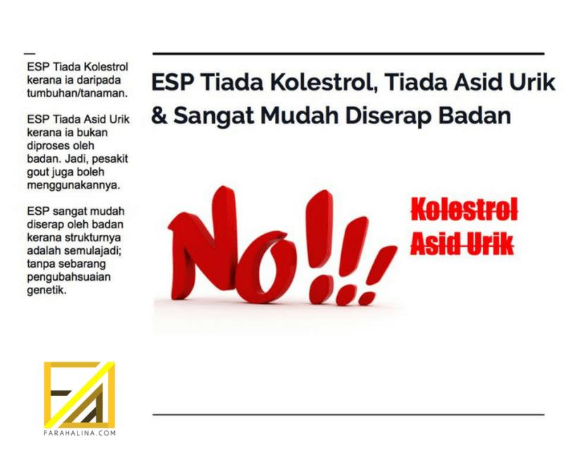 ESP tiada kolestrol