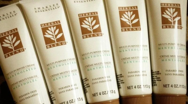 herbal blend cream shaklee