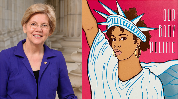 Our Body Politic: Sen. Elizabeth Warren on what economies should do, how Covid-19 Vax protects others, and confronting the stigma of intimate partner violence.