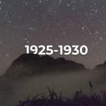 Cerro San Nicolás (1925-1930) Relatos de las primeras expediciones