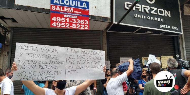 joven venezolana fue violada en argentina