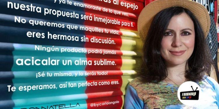 -Carla Angola se contagió de COVD-19-