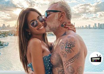 gianluca vacchi y su pareja sharon fonseca