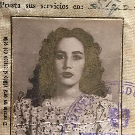 Primera actriz cubana-venezolana Gladys Cáceres